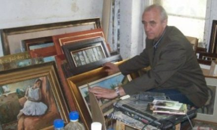 Gróf Zoltán festőművész a természetben érzi jól magát