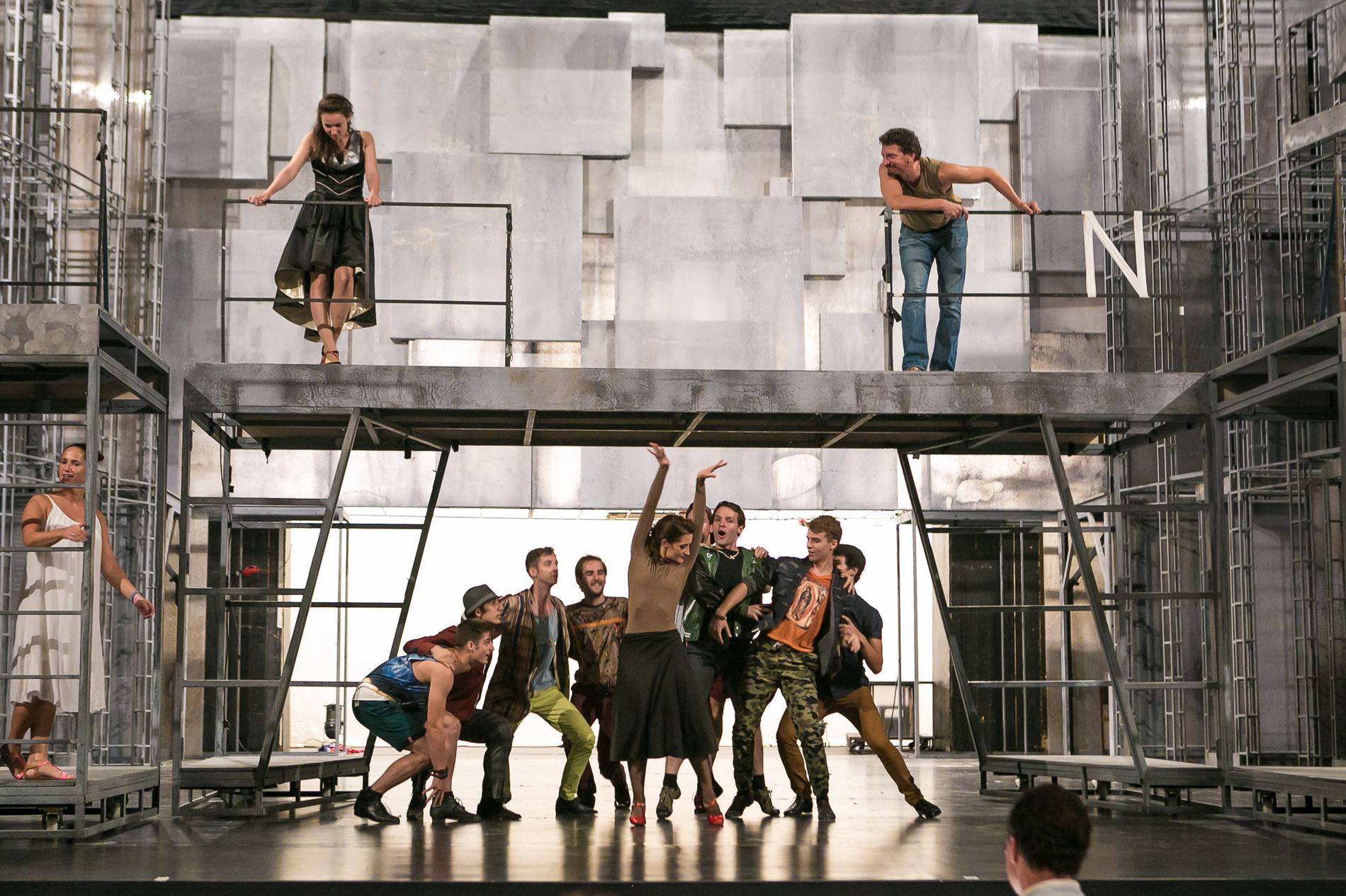 West Side Story - próba_fotó_Nagy Attila