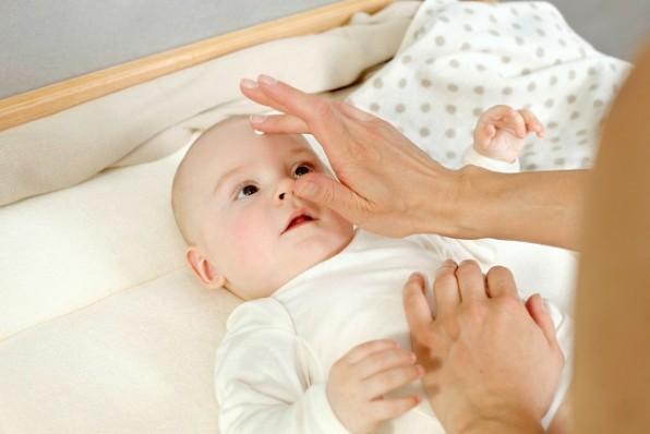 A fehérmályva a babaápolás szolgálatában