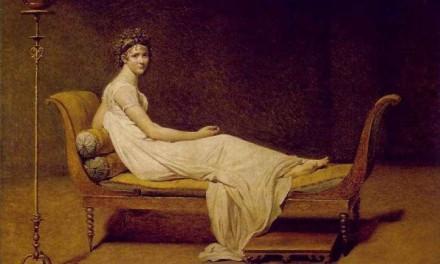 """Madame Récamier – """"a Direktórium szellemének és csodájának asszonya"""""""