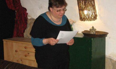 Bemutatjuk Bak Rita költőt, műfordítót, pszichológust, pedagógust