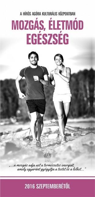 Mozgás, életmód, egészség! – A Hírös Agóra szeptemberi programjai