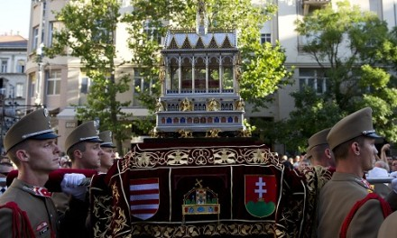 Augusztus 20-án Szent István napját ünnepeljük