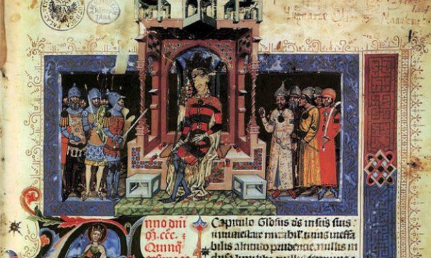 Nagy Lajos (1326-1382) az egyik legnagyobb magyar királyunk