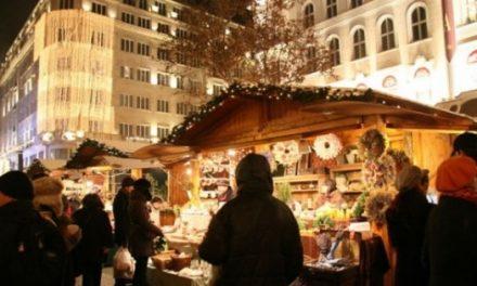 Megnyílt a Budapesti Adventi és Karácsonyi Vásár a Vörösmarty téren
