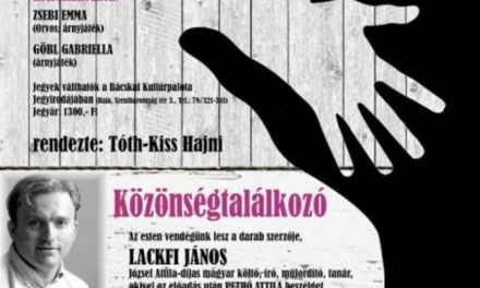 Lackfi János: HozzáTartozók – A Bajai Fiatalok Színházában