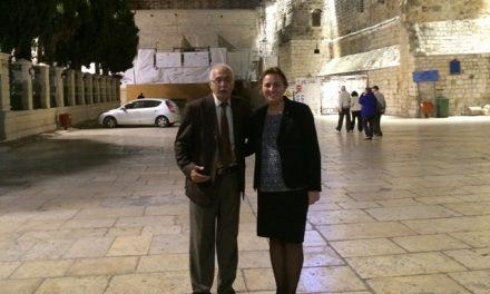 Szemereyné Pataki Klaudia, Kecskemét polgármestere Jeruzsálemben járt