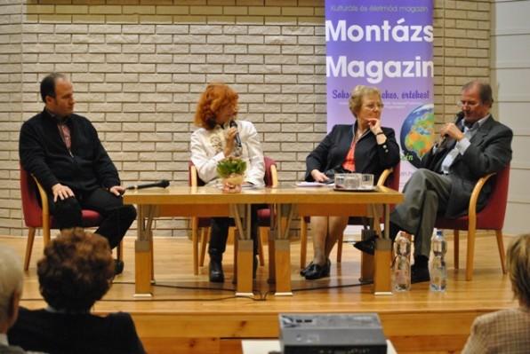 A Laczkó család a komolyzene és a művészetek követeként a Montázs-esten