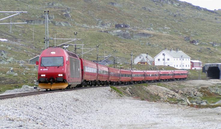 Vonatozás Bergen és Oslo között, az otthoni fotelből szemlélődve