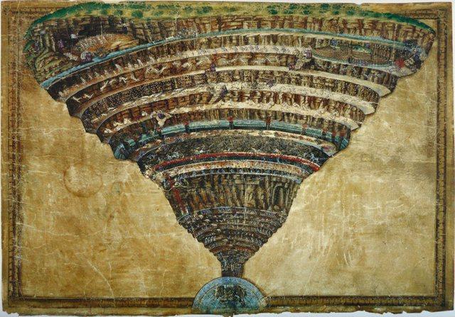A művészet templomai – Botticelli: Dante pokla