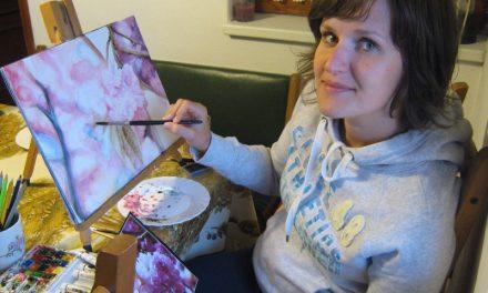 Horváthné Budai Éva fogorvos és amatőr festő