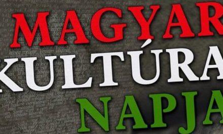 A Magyar Kultúra Napja alkalmából – Felhívás