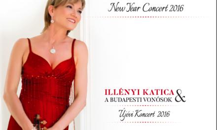 Megjelent Illényi Katica újévi koncertje CD-n és DVD-n!