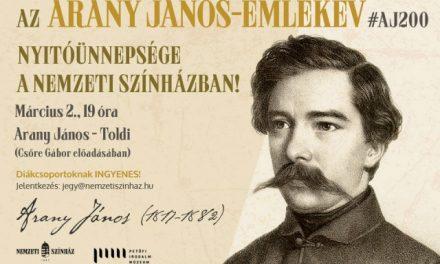 200 éve született Arany János – Ma kezdődik az Arany János-emlékév