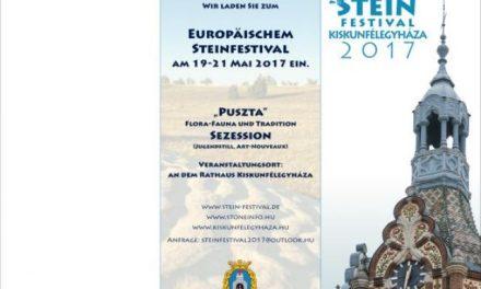 A XVIII. Európai Kőfaragó Fesztivál Kiskunfélegyházán