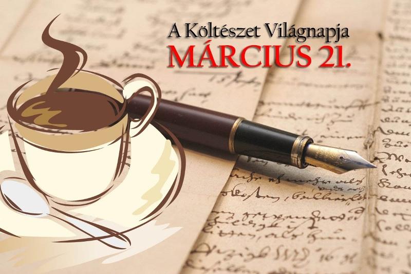 Március 21. a Költészet Világnapja