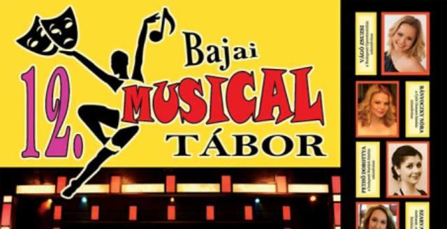 12. Bajai Musical Tábor a nyáron