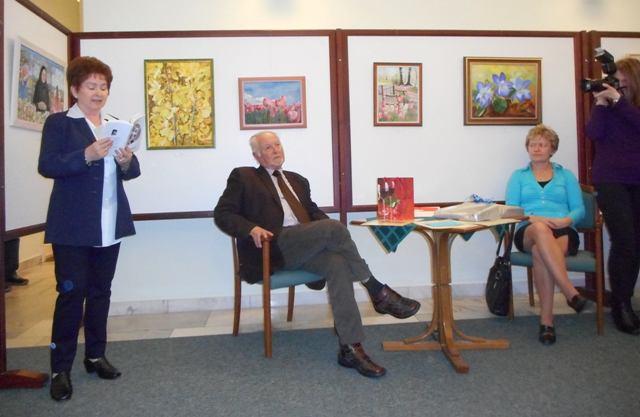 A Montázsmagazin festménypályázatának díjátadójáról