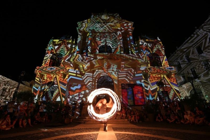 Minősített Európai Fesztivál lett a Zsolnay Fényfesztivál