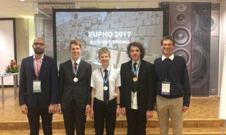 Európai Fizika Diákolimpia magyar sikerekkel