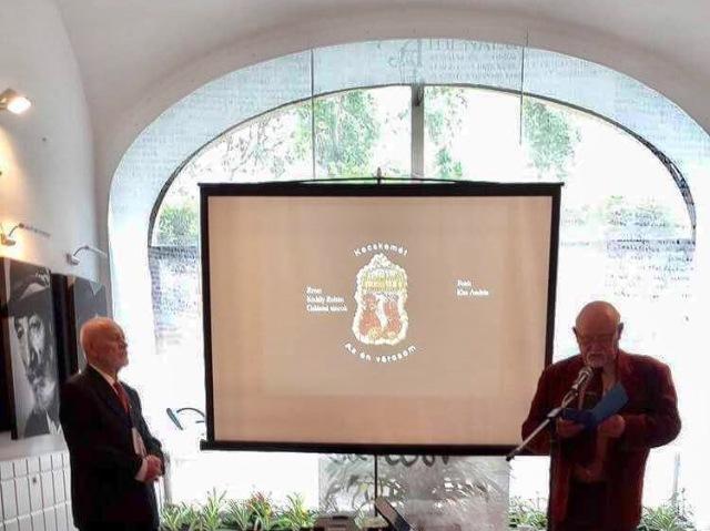 A BKM-i Költők és Írók Baráti Körének bemutatkozása Egerben