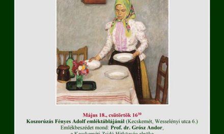 150 éve született Fényes Adolf – 40. Nemzetközi Múzeumi Világnap