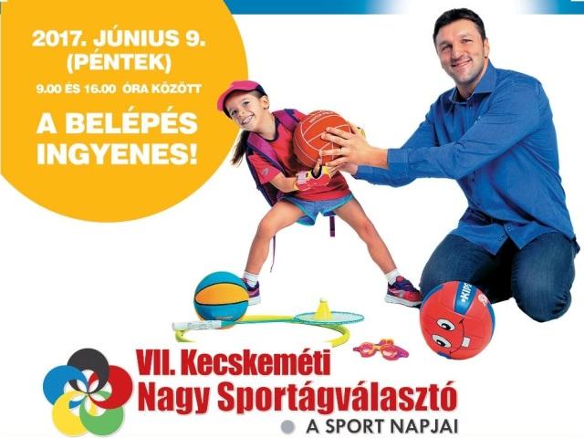 Kecskeméti Nagy Sportágválasztó – 2017