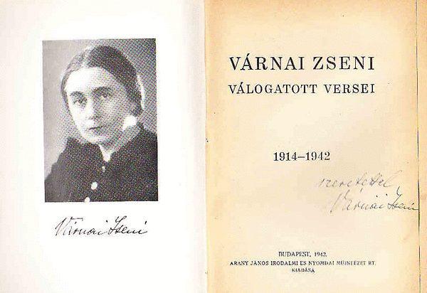 Várnai Zseni költő születésnapjára