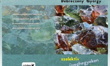 Debreczeny György új kötetei a Könyvhéten