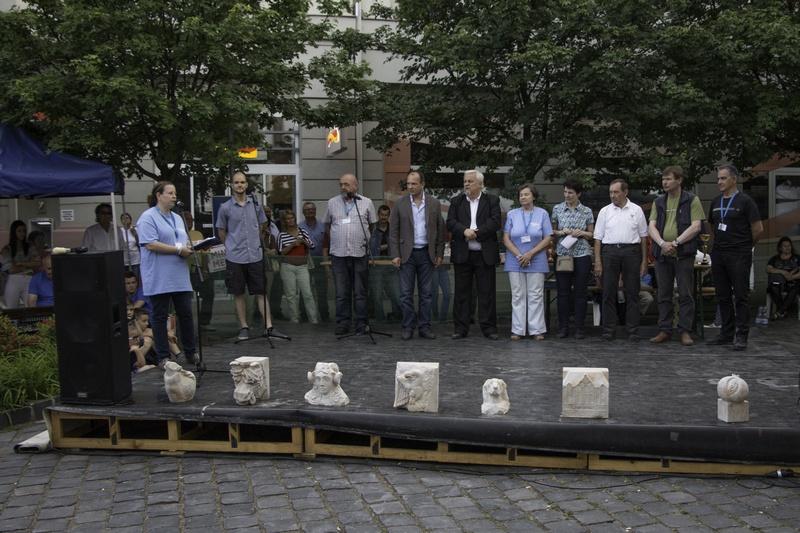Nagy siker volt az Európai Kőfaragó Fesztivál Kiskunfélegyházán