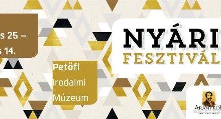 Nyári Fesztivál a Petőfi Irodalmi Múzeumban