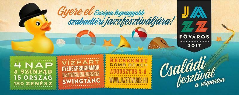 Öt hét múlva Jazzfőváros Fesztivál Kecskeméten!