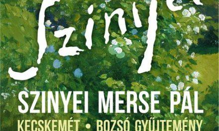 Érzékszervi tárlatvezetés a Szinyei Merse Pál kiállításon