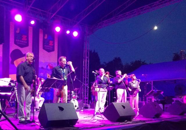 Hatalmas volt a hangulat a Jazzfőváros péntek esti koncertjén