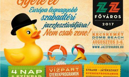 Már csak kettőt kell aludni, hogy a Jazzfőváros Fesztivál elkezdődjön!