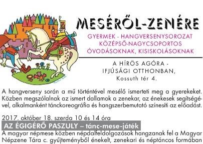 MESÉRŐL-ZENÉRE – Hangversenysorozat kicsiknek