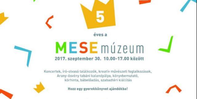 5 éves a MESEMÚZEUM Budapesten