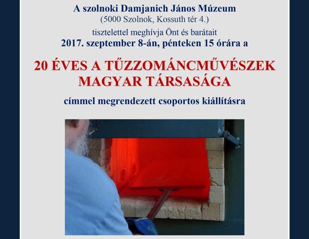 20 éves a Tűzzománcművészek Magyar Társasága