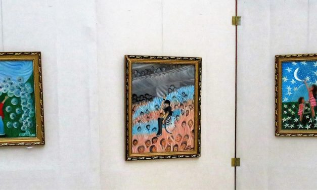 Barátságban az élettel – Doszkocs Zsuzsa kiállítása az OORI-Galériában