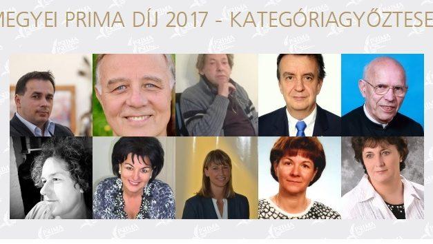 MEGYEI PRIMA DÍJ 2017 – Kategóriagyőztesek – Szavazzunk!