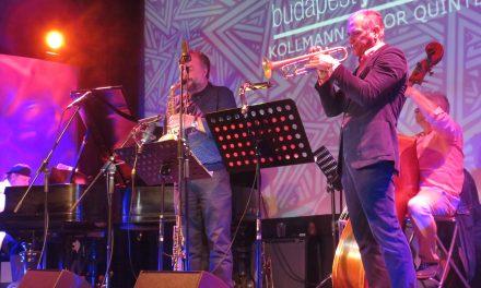 A Kollmann Gábor Quintet játszott a Budapest Jazz Clubban