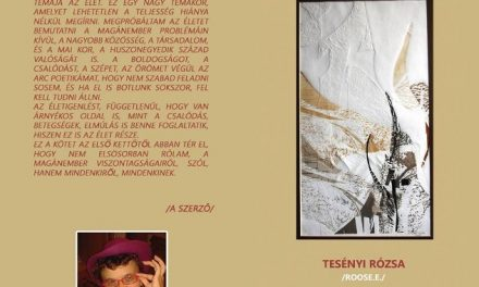 Boldogító versek – Tesényi Rózsa műsoros könyvbemutatója
