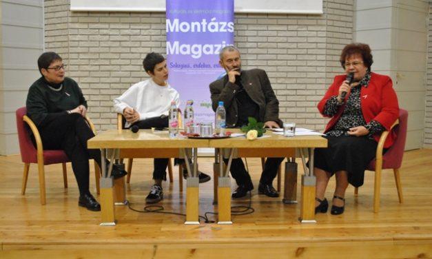 Nagy érdeklődés kísérte a szombati Montázs estet a Szilágyi családdal
