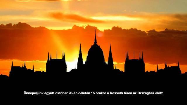 Ünnepi programok Budapesten október 23. alkalmából