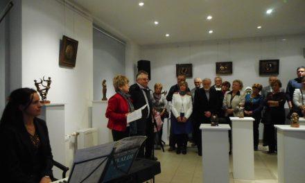 Megnyílt Pálfy Gusztáv szobrászművész kiállítása Kecskeméten