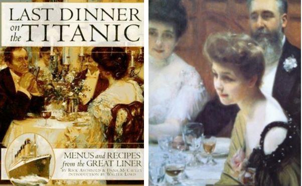 Ez volt az utolsó vacsora a Titanic fedélzetén