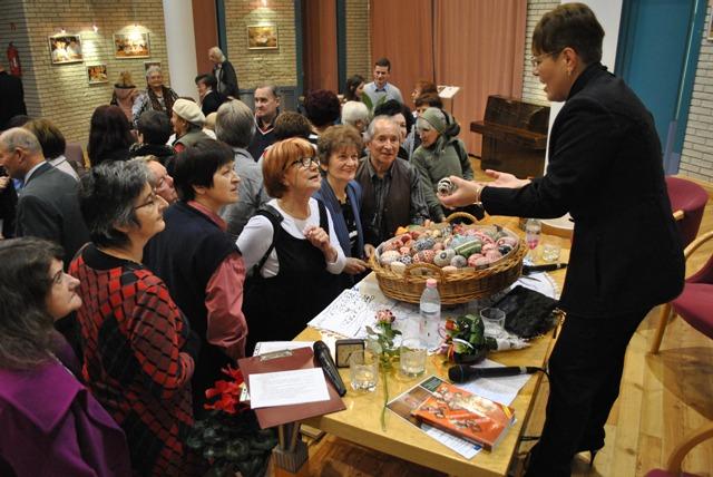 Zsigóné Kati népi iparművész és családja volt a Montázs est vendége