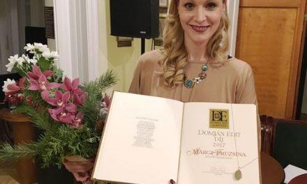 Märcz Fruzsina Domján Edit-díjas lett!