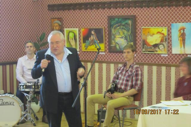 Kothencz József író, költő a humor és az optimizmus barátja