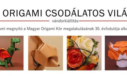 Az origami csodálatos világa – Országos origami vándorkiállítás